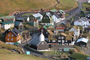 Bøur, aux îles Féroé