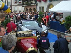Bugatti Veyron à Molsheim, site historique de Bugatti en Alsace