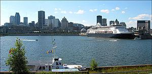 Vue sur Montréal et son Vieux-Port