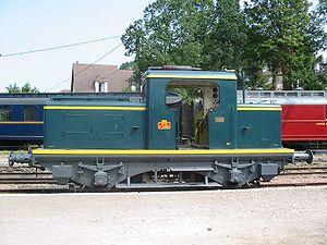 Le Y 11251 préservé sur le CFVE.
