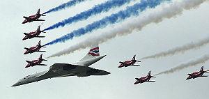 Concorde au jubilé de la reine
