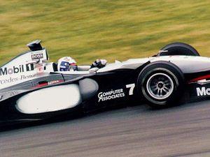 McLaren de David Coulthard, à Montréal en 1998