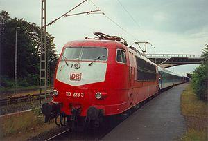 Locomotive Classe 103 de la Deutsche Bahn