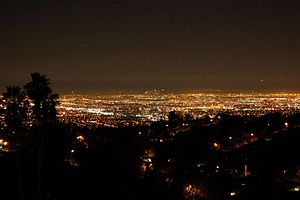 Los Angeles est connue pour son panorama en