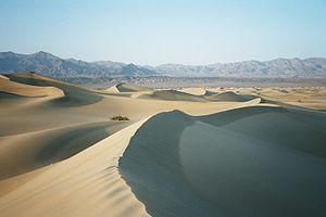 Vallée de la mort (en Californie)