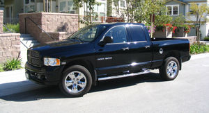 Pickup Dodge Ram 1500 Crewcab