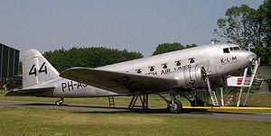 Douglas DC-2 de la KLM.