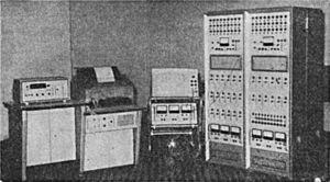 Le calculateur analogique ELWAT.