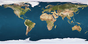 67e parallèle sud (Terre)