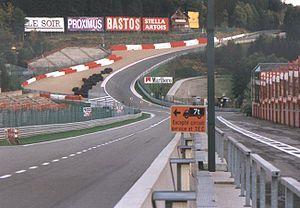 Le Raidillon en 1997