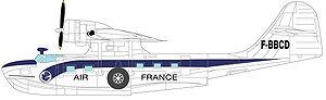 Le catalina F-BBCD de la compagnie Air France.