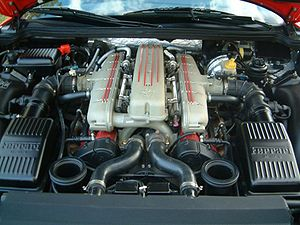 Ferrari 550 Maranello, moteur