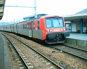 Une rame TER Haute-Normandie RRR à Lisieux.
