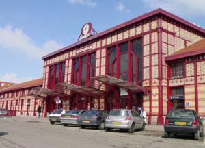 Fa�ade de la gare