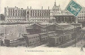 La gare à la fin du XIXème siècle