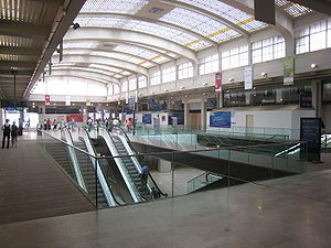 Hall de Correspondance M�tro de la Gare de l'Est (en travaux)