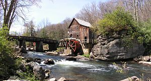 Moulin � eau.