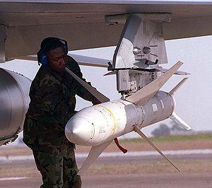 Missile antiradar AGM-88 HARM