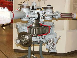 BTP du Bristol 171 Sycamore (au premier plan à gauche, le disque du frein de rotor