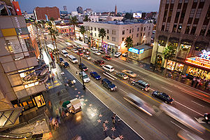 Hollywood Boulevard.