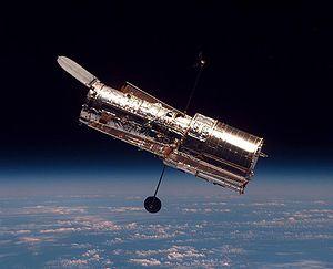 Télescope spatial Hubble.