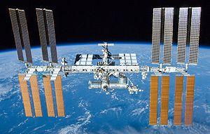 La station spatiale internationale le 23 mai 2010