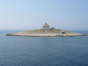 Une île de la mer Adriatique