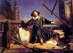 L'astronome Copernic en conversation avec Dieu. Jan Matejko, 1872