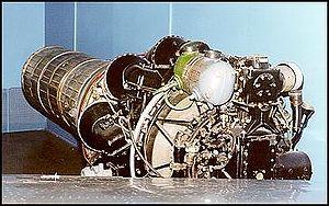 Le moteur Klimov Vk-1 qui propulse le MiG-15bis