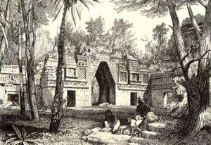Arche de Labná, par Catherwood