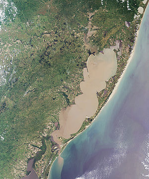 Porto Alegre et la lagoa dos Patos