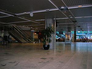 L'aéroport de Göteborg-Landvetter le 4 août 2007