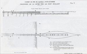 Projet Danisy-Martin de pont roulant immergé (1895)