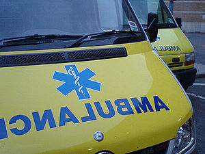 Ambulances à Londres (Royaume-Uni)