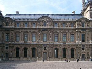 Aile Lescot au Louvre.