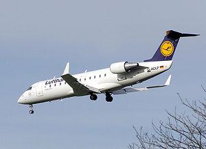 CRJ-100 de la Lufthansa
