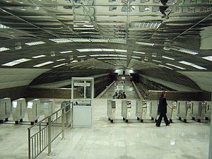 La station Berjosowaja Roschtscha