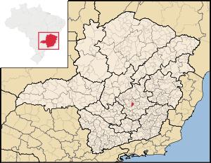 Carte de Belo Horizonte
