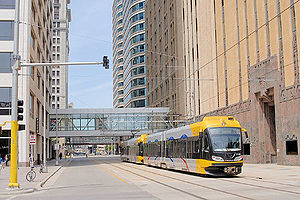 L'Hiawatha Line est la première ligne du nouveau réseau de métro léger.