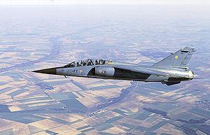 Mirage F1 B de l'Escadron de chasse 3/33