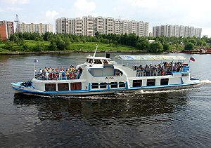 Moskvitch en Moscou, 2005