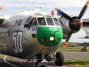 Le dernier Noratlas en état de vol, au meeting de Pontoise en 2006