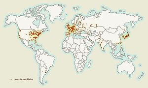 Les centrales nucl�aires dans le monde