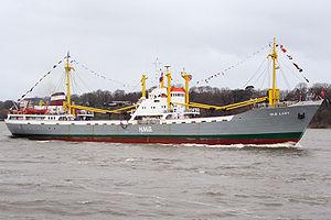 Le Old Lady, ex-Bleichen de 1958, navire-musée à Hambourg.
