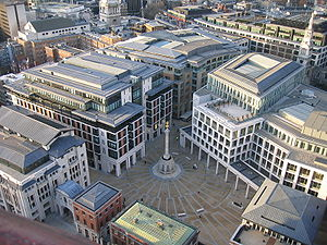 Paternoster Square.