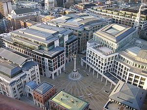 Paternoster Square.