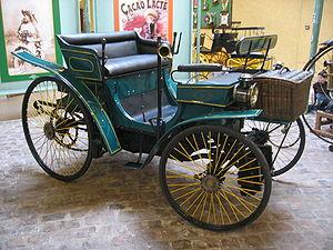 Peugeot Type 3 à moteur Daimler de 1889.