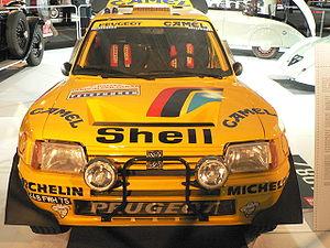 Modèle Grand Raid 1987, 3e au Paris-Dakar en 1989 avec Peugeot 205 Turbo 16