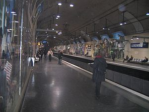 RER B, Luxembourg
