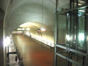 Couloir de correspondance à Haussmann - Saint-Lazare